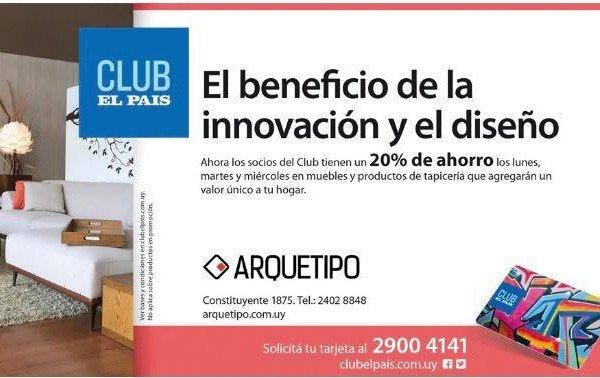 Beneficio Arquetipo y Club El Pais