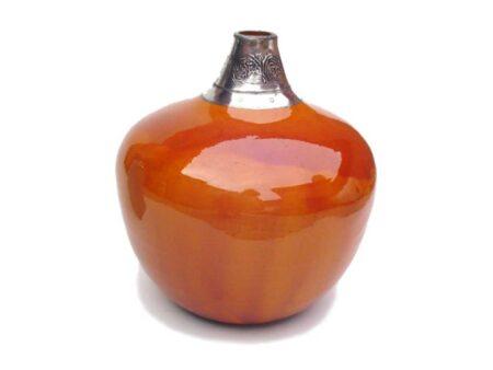 Botellón trompo esmaltado con estaño