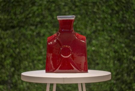 Botellón Versace esmaltado con estaño