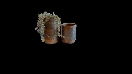 Vaso labrado ceramica