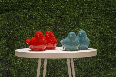 Pajaritos cerámica