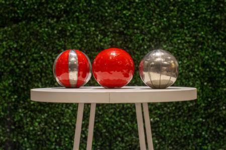 Esferas cerámica con diseño