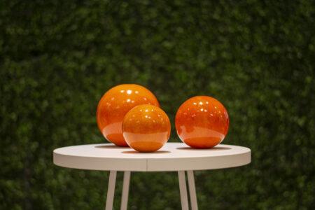 Set de 3 esferas de cerámica