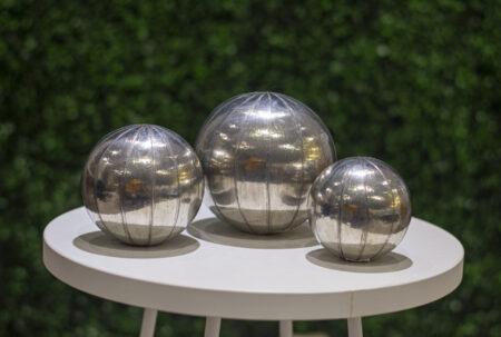 Esferas ceramica forradas en aluminio