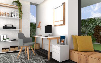 Tips para cuidar la postura trabajando en casa