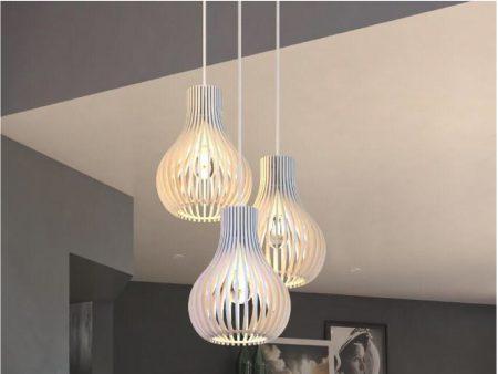 Conjunto de 3 luminarias pendiente Balao